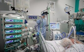 """31/03/2021: """"La Argentina está en el abismo de una catástrofe sanitaria sin precedentes"""", advirtió un médico especialista en terapia intensiva"""