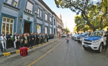 Se entregaron nuevos vehiculos policiales a la Jefatura Departamental de Concordia