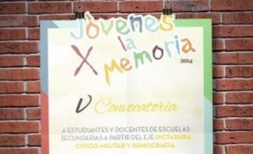 Más de 300 jóvenes participarán de una nueva edición Jóvenes x la Memoria