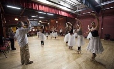 Alicia Kirchner encabezó una celebración por el día internacional de la danza