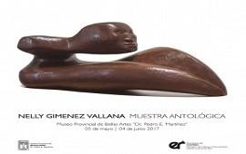 29/04/2017: Muestra antológica de la escultora Nelly Giménez Vallana