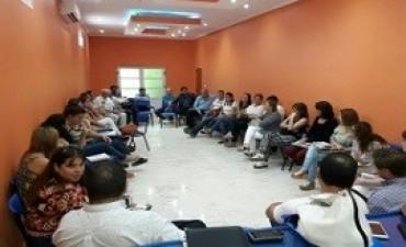 06/04/2017: Se reunieron las Áreas de Niñez de Rosario del Tala para acordar criterios de intervención en territorio