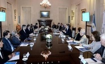 11/07/2017: El Presidente se reunió con el espacio de diálogo Argentina 2030