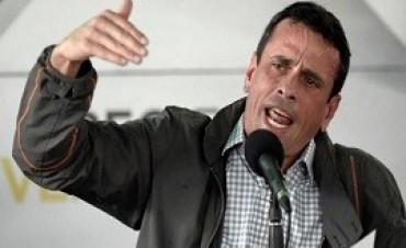 15/04/2017: Capriles elogió a Macri y celebró que