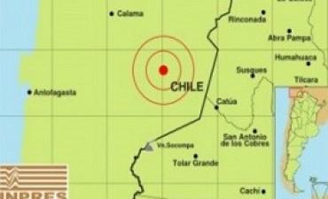 15/04/2017: Un terremoto de 6,3 grados sacudió el norte de Chile