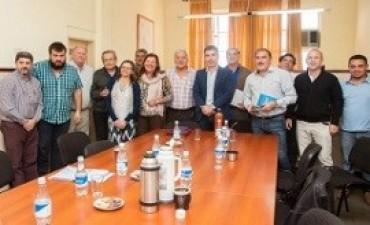 24/04/2017: Vialidad y Soever afianzan mecanismos de trabajos para el funcionamiento de las zonales