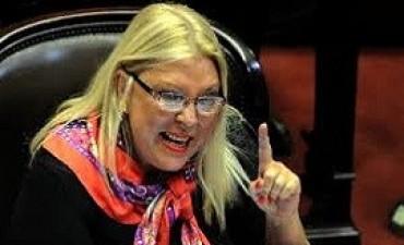26/04/2017: Carrió propone eliminar el pago de pensiones vitalicias a los futuros ex presidentes