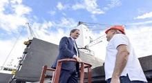 16/04/2018: Bordet propone un sistema portuario integrado con Uruguay