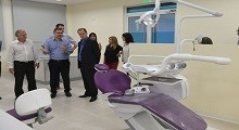 27/04/2018: Presentaron a Bordet las nuevas instalaciones de la Universidad Adventista del Plata para la carrera de odontología