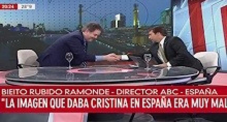 06/04/2018: El desopilante blooper del invitado de Eduardo Feinmann