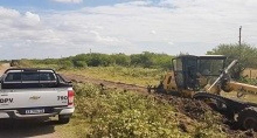 09/04/2018: Trabajan en la recuperación de la ruta 19 entre los departamentos Uruguay y Gualeguaychú