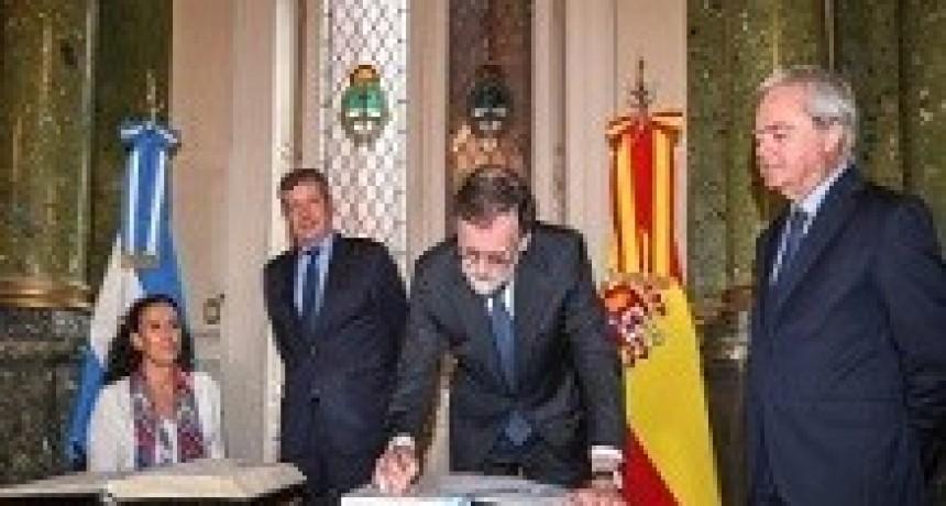 11/04/2018: Rajoy almorzó en el Congreso para finalizar su visita a la Argentina