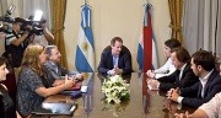18/04/2018: Bordet repasó con el titular de Vialidad Nacional las obras cofinanciadas con Nación que se ejecutan en Entre Ríos