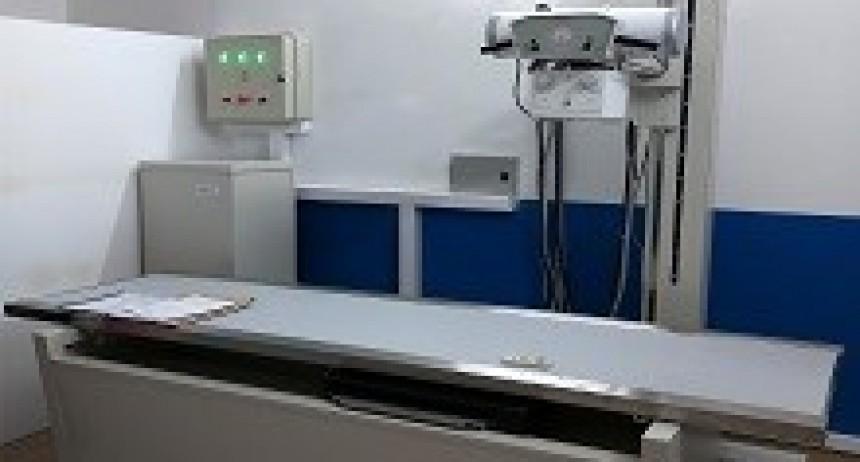 20/04/2018: El hospital de Rosario del Tala cuenta con un nuevo equipo de rayos X fijo