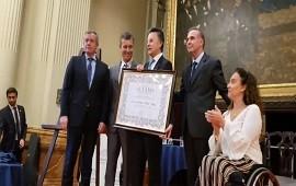 08/04/2019: El Senado de la Nación distinguió a Palito Ortega por su trayectoria