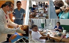 09/04/2019: Realizaron cerca de 200 atenciones odontológicas en Villa Paranacito