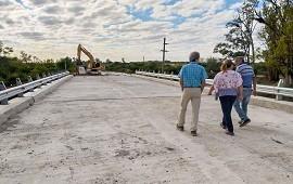 11/04/2019: Importante avance en la construcción del puente sobre arroyo Hernandarias