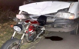 20/04/2019: Dos motociclistas fueron hospitalizados tras protagonizar un fuerte impacto