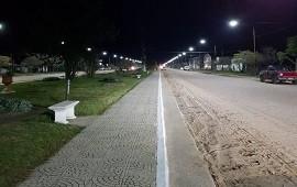 25/04/2019: Salto Grande aportó fondos para luminarias LED en el Departamento de Federación