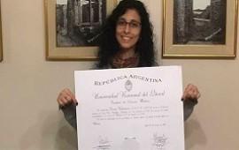 07/04/2020: Médica entrerriana denunció