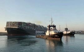 01/04/2021: Canal de Suez: el buque no puede irse hasta terminar la investigación