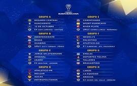 09/04/2021: Copa Sudamericana: los equipos argentinos ya tienen grupo