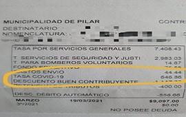 12/04/2021: Pilar: el municipio cobra una tasa Covid-19