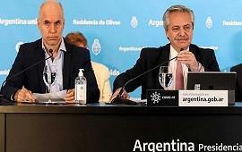 15/04/2021: Fernández y Rodríguez Larreta se reúnen el viernes en Olivos