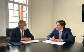 21/04/2021: Fernández y Trotta evalúan una