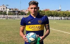 23/04/2021: Boca: póker de goles de Luis Vázquez, el nueve que pide pista en primera