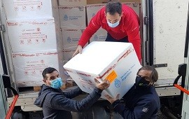 30/04/2021: Este viernes la provincia recibió otras 22.300 dosis de vacunas Covid-19