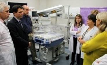 El Garrahan cuenta con la primera terapia intensiva neonatal con quirófano del país