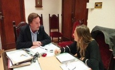 Copnaf y el municipio de Paraná acordaron una agenda de trabajo en común