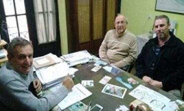 Evaluaron la ejecución y proyección de obras sanitarias en localidades diamantinas