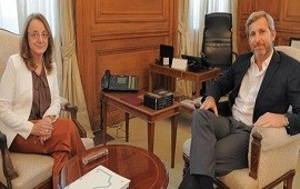 12/05/2017: Santa Cruz: Rogelio Frigerio y Alicia Kirchner no llegaron a un acuerdo