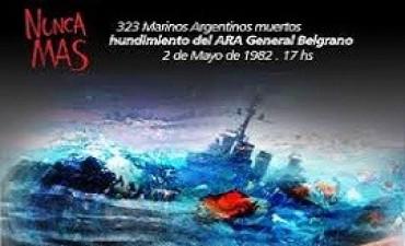 02/05/2017: Con varios homenajes, se recordó el 35° aniversario del hundimiento del Crucero General Belgrano