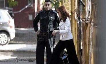 03/05/2017: Cristina Kirchner declaró como testigo en una causa que investiga a Sturzenegger