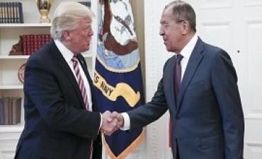 17/05/2017: Putin ofrece entregar la transcripción de la reunión entre Trump y Lavrov