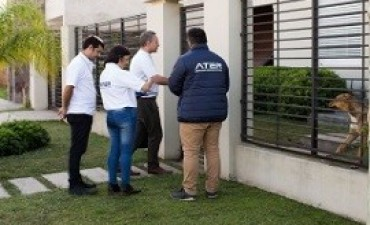 18/05/2017: ATER fiscalizó viviendas residenciales en Paraná
