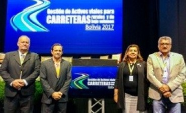 27/05/2017: Entre Ríos estuvo presente en un seminario sobre mantenimiento de caminos rurales
