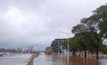 17/05/2017: La creciente que se anticipaba del río Uruguay
