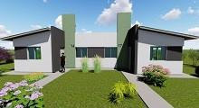 18/05/2018: Con fondos provinciales se construirán 10 viviendas en Villa Domínguez