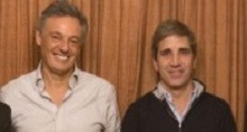 16/05/2018: Cabrera y Caputo recibieron el apoyo de una veintena de cámaras empresariales