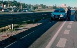 24/05/2018: Panamericana: un conductor atropelló y mató a un hombre que bajó de su auto por un desperfecto