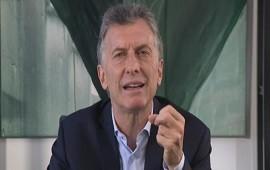 28/05/2018: Mensaje de Macri al peronismo por las tarifas: