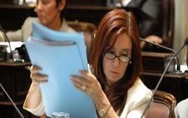 28/05/2018: CFK le respondió al Presidente