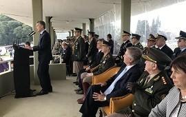 """29/05/2018: Mauricio Macri pidió a las Fuerzas Armadas """"apoyo logístico en la seguridad"""""""