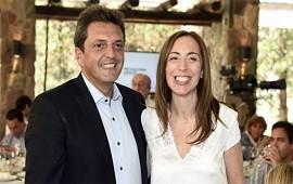 30/05/2018: En plena tensión con el peronismo, Vidal y Rodríguez Larreta se juntaron con Massa