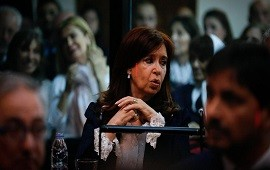 21/05/2019: Cristina Kirchner presenció la primera audiencia del juicio por corrupción