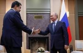 06/05/2019: El régimen chavista y Rusia negocian un posible viaje de Nicolás Maduro a San Petersburgo el próximo mes